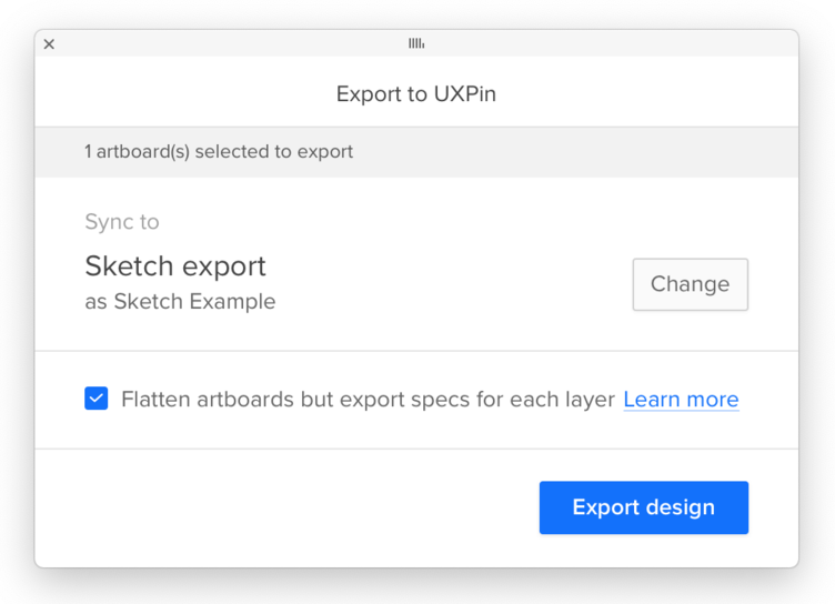 UXPin - Docs | Getting Started